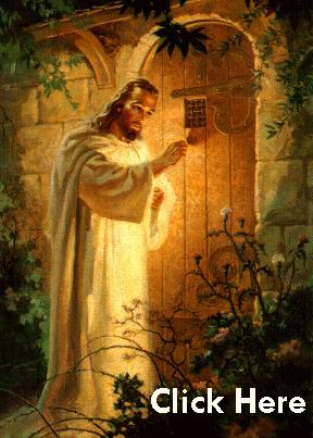 Jesus knocks at Door